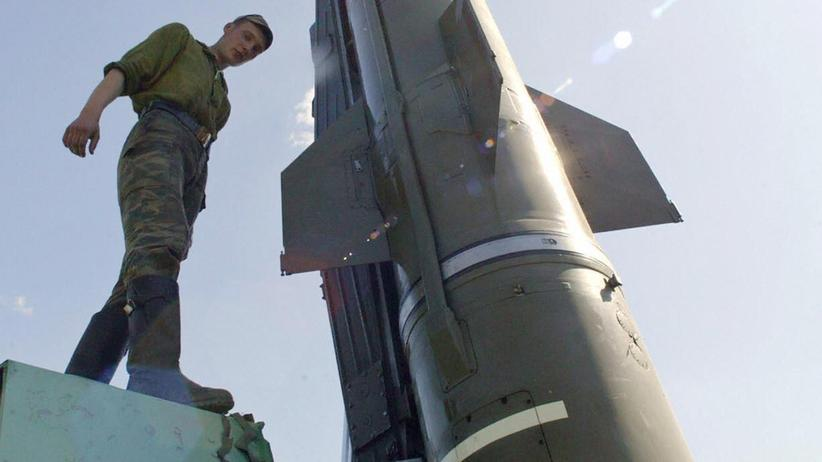 Russland Iskander Rakete