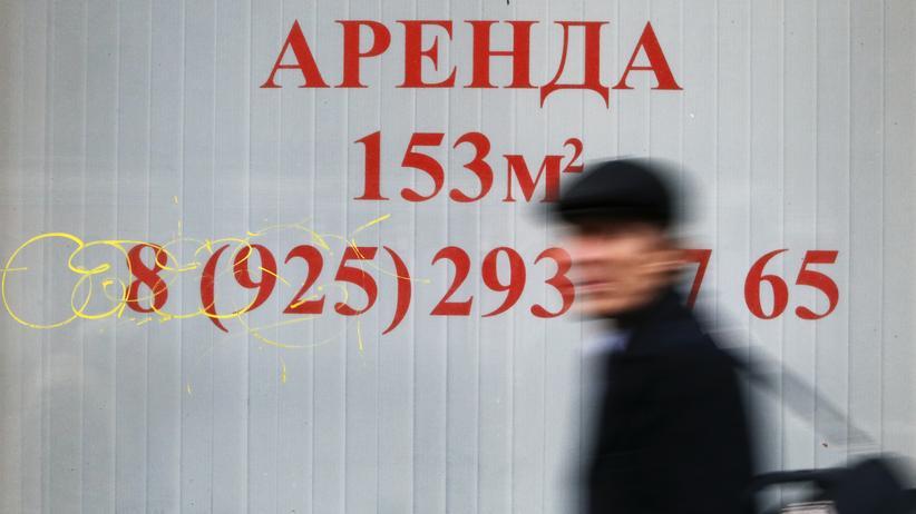 Ukraine-Krieg: Leerstand in Moskau