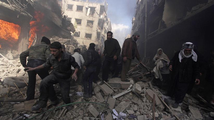 Politik, Syrien, Syrien, Bürgerkrieg, Baschar al-Assad, Islamischer Staat, Aleppo, Damaskus