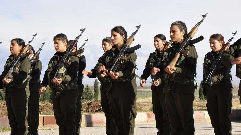Syrien YPG Ivana Hoffman