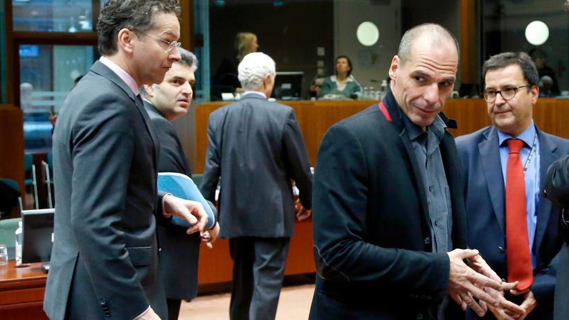 Griechenland Euro-Gruppe Yanis Varoufakis