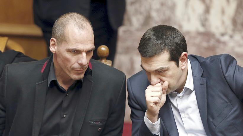 Griechenland Yanis Varoufakis Alexis Tsipras