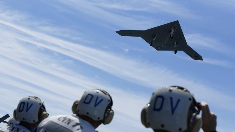 USA: Großkampfdrohne erstmals in der Luft betankt