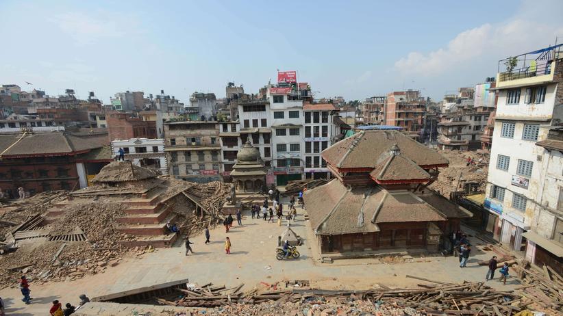 Der Durbar-Platz in Kathmandu
