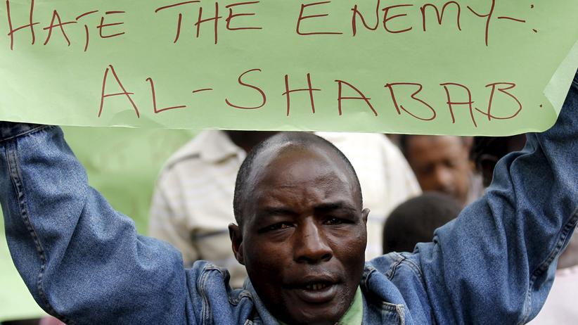 Nach dem Massaker von Garissa: Demonstration gegen Al-Shabaab in Nairobi