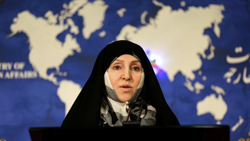 Marzieh Afkham: Erstmals vertritt eine Frau den Iran