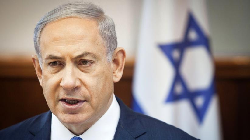 Iran: Israels Premierminister Benjamin Netanjahu bei der wöchentlichen Kabinettssitzung