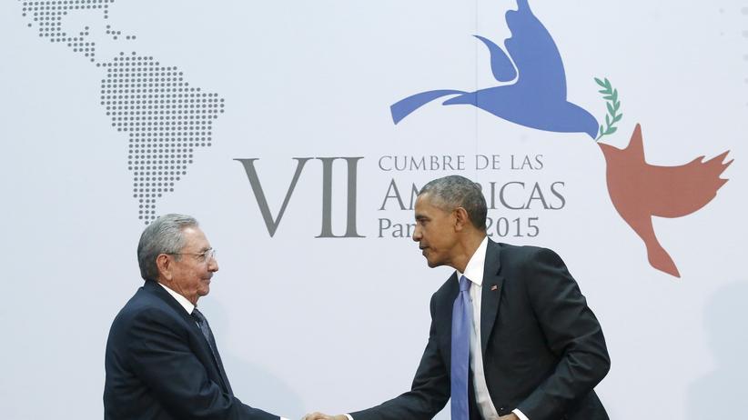 Raul Castro und Barack Obama