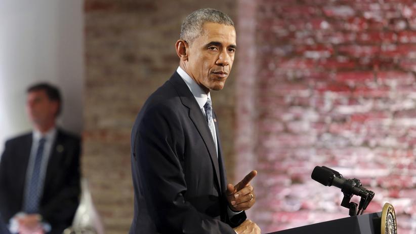 US-Präsident Barack Obama widerspricht dem israelischen Ministerpräsidenten Benjamin Netanjahu.