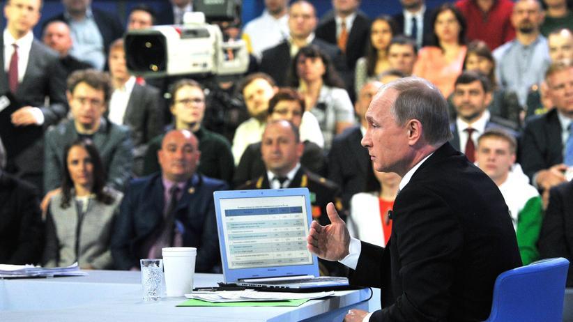 Putin sieht Sanktionen als Ansporn
