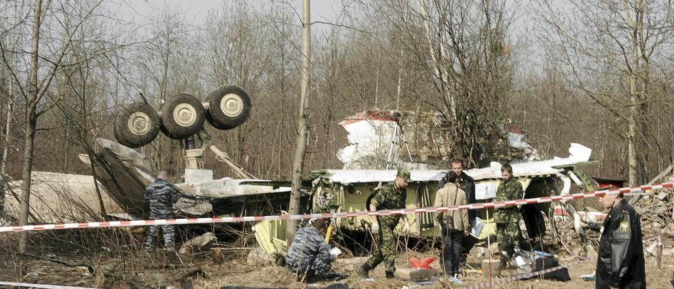 Smolensk Polen Flugzeugabsturz Kaczynski