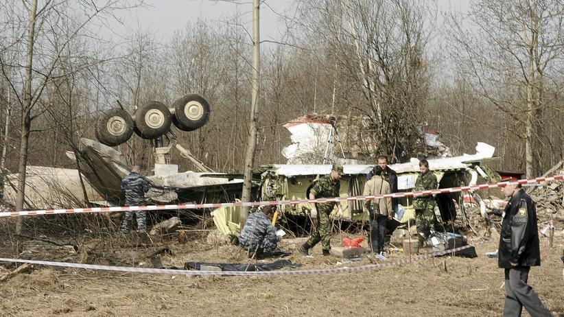 Flugzeugabsturz von Smolensk: Polen veröffentlicht Abschrift des Flugschreibers
