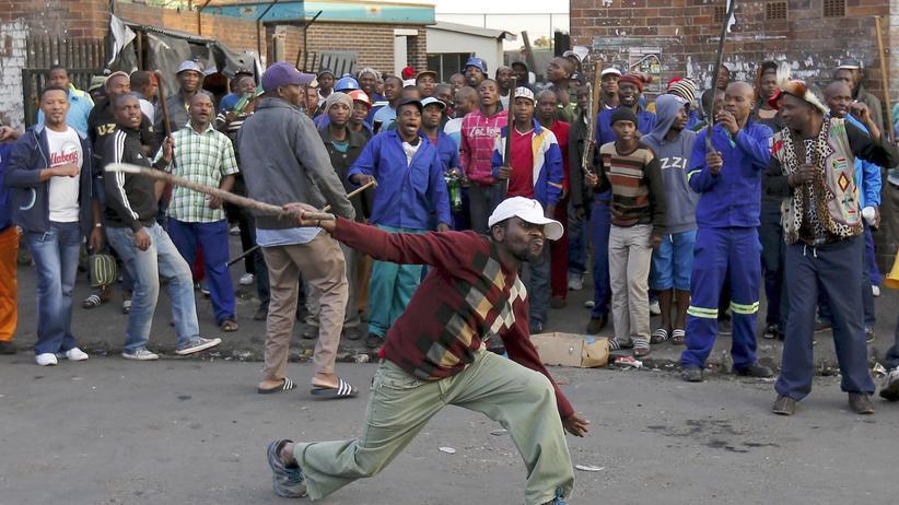 Südafrika: Ausländerfeindliche Krawalle erreichen Johannesburg