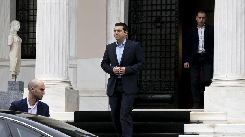 Der griechische Ministerpräsident Alexis Tsipras macht einen umstrittenen Besuch in Moskau,