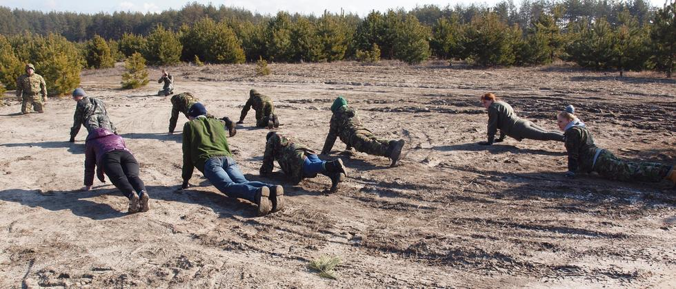 Ukraine Armee Freiwillige