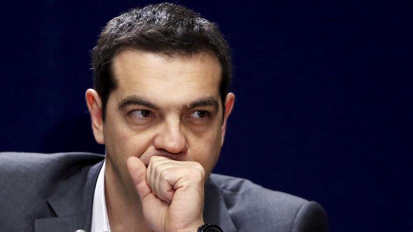 Alexis Tsipras Brüssel