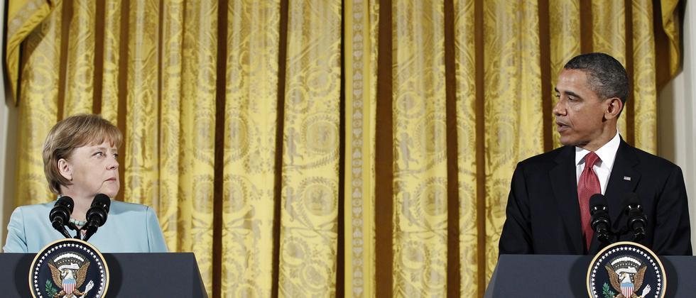 Bundeskanzlerin Angela Merkel und US-Präsident Barack Obama (Archivbild, 2011)