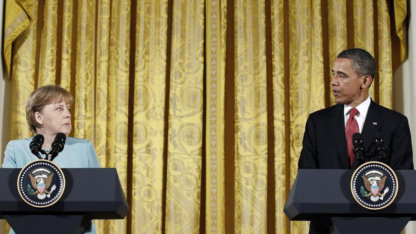 BND-Affäre: Bundeskanzlerin Angela Merkel und US-Präsident Barack Obama (Archivbild, 2011)
