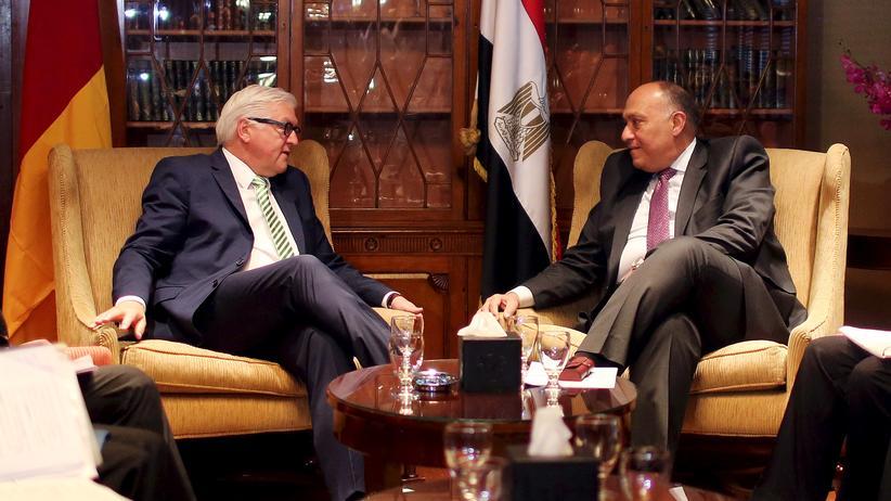 Ägypten: Steinmeier und die Widersprüche Ägyptens
