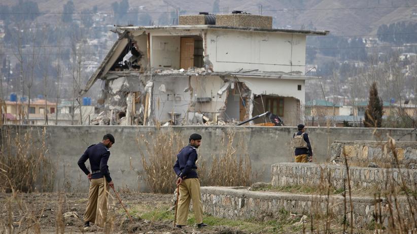 Das Haus von Osama Bin Laden in Abbottabad, Pakistan (Archivbild, 2012)