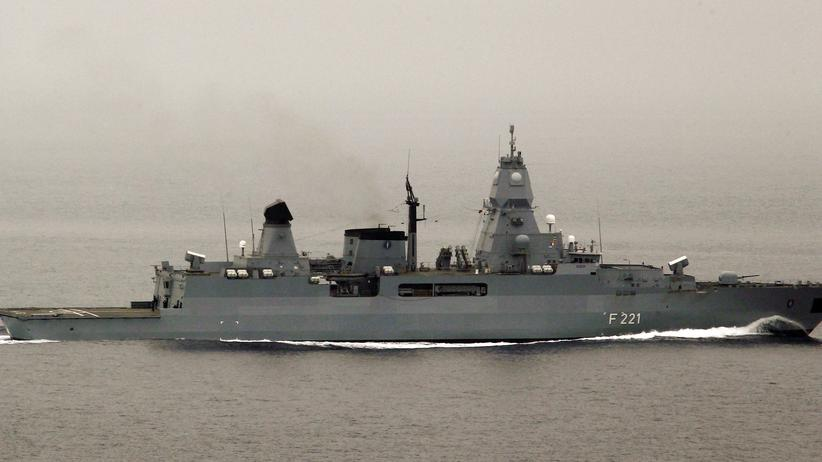 Mittelmeer: Deutsche Fregatte hat Lizenz zum Versenken