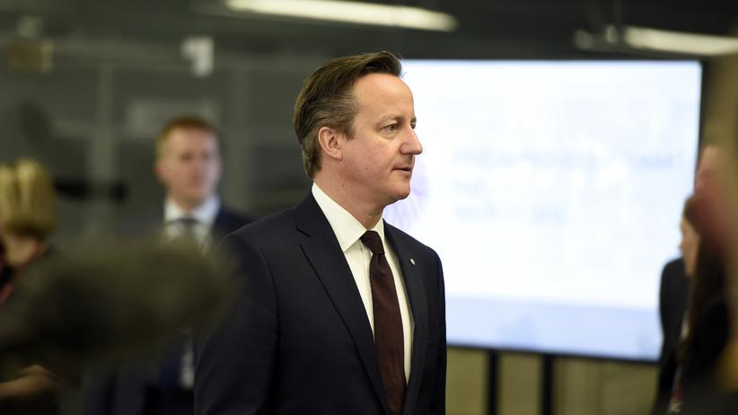 David Cameron Großbritannien EU-Reform Riga