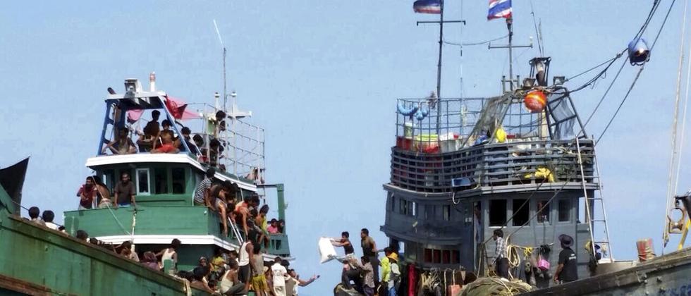 Flüchtlinge Indonesien Malaysia