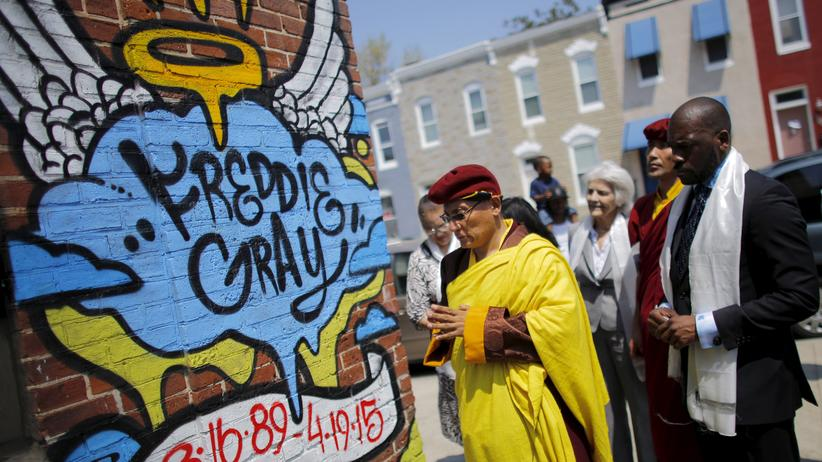 Baltimore: Gedenken an Freddie Gray in Baltimore