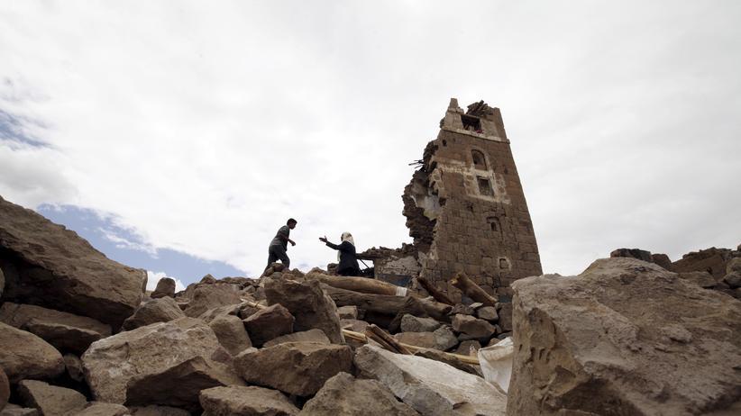 Jemen: Arabische Allianz bombardiert Huthi-Stellungen
