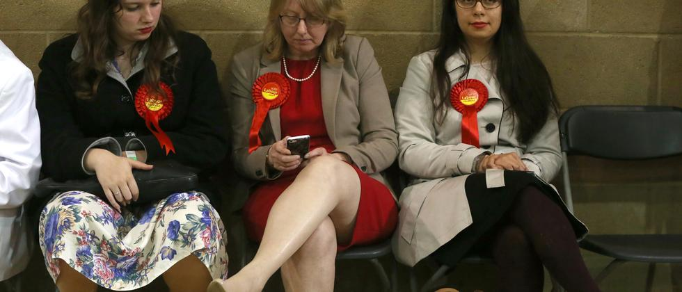 Großbritannien Wahl Labour