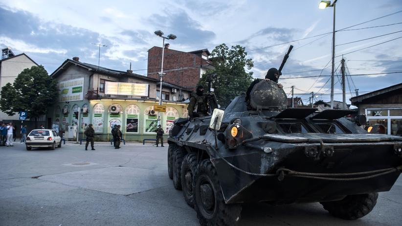 """Mazedonien: """"Die Waffen aus dem Kosovo-Krieg sind noch im Umlauf"""""""