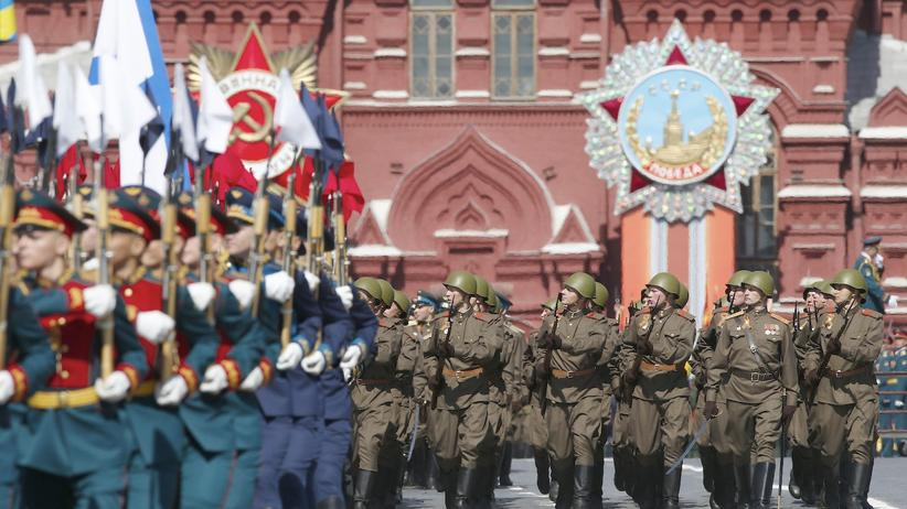Moskau Militärparade