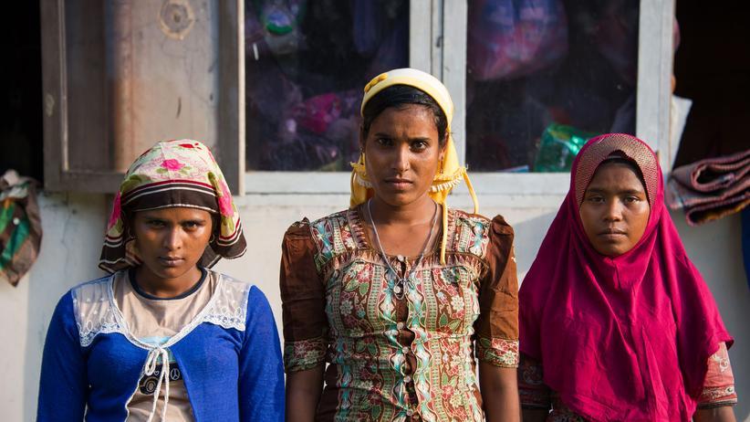 Politik, Rohingya-Flüchtlingskrise, Minderheit, Flüchtling, Bootsflüchtling, Myanmar, Malaysia, Thailand, Bangkok