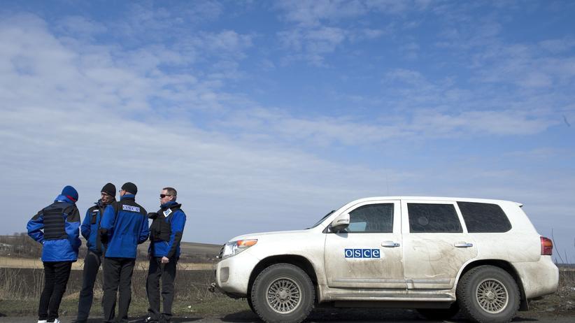 Ukraine: OSZE beklagt Schüsse auf ihre Beobachter