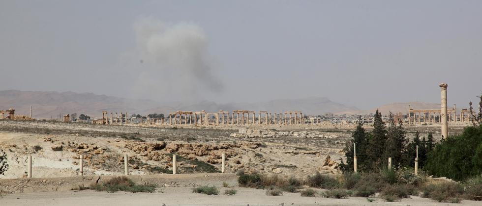 Palmyra IS Syrien