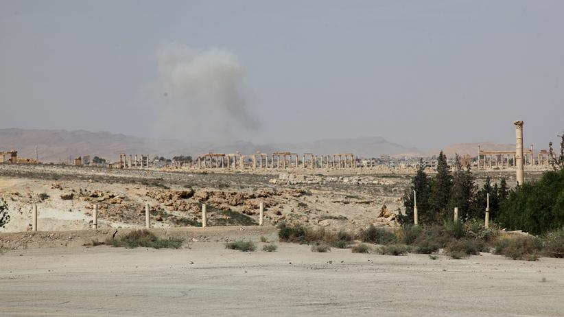 Palmyra IS Syrien