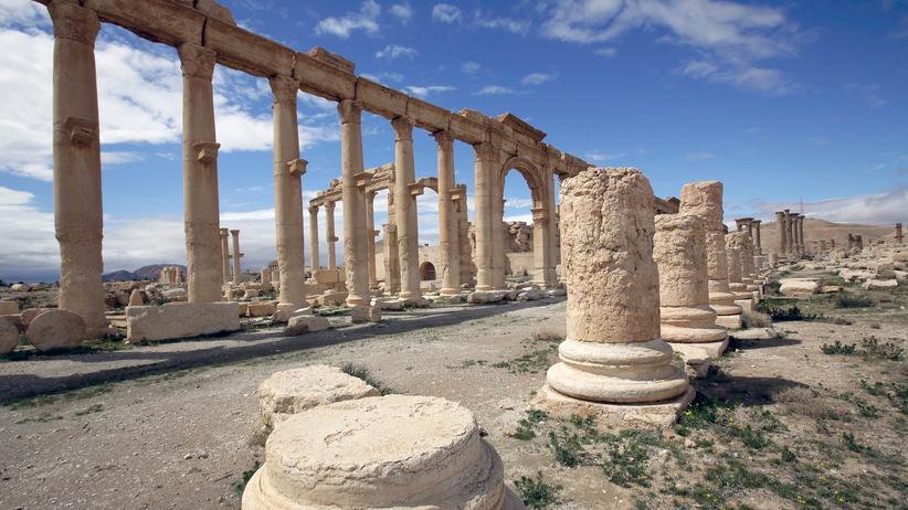Palmyra Syrien Terrormiliz Islamischer Staat