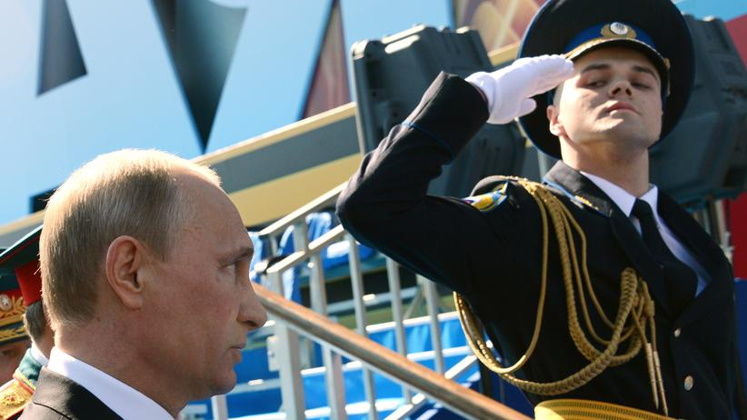 World War II: Last year's parade on May 9th in Moscow