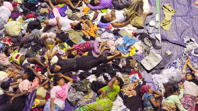 Rohingya Malaysia Indonesien Boot