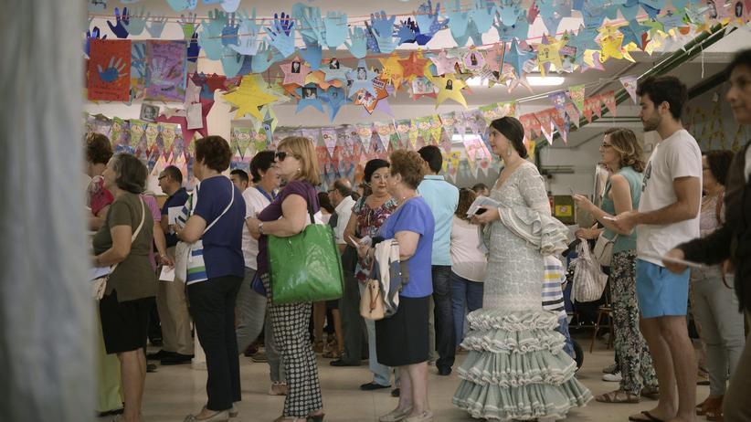 Kommunalwahl: Wahllokal im spanischen Cordoba