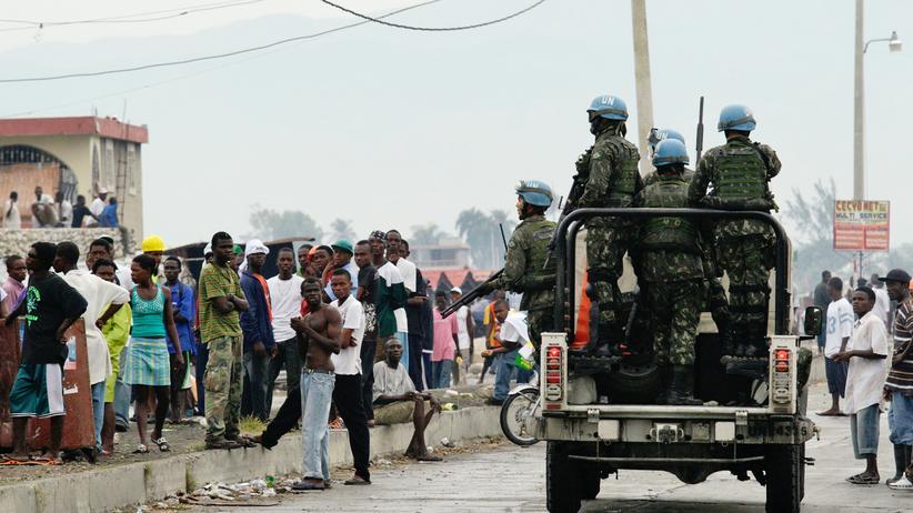 UN-Blauhelme in Haiti