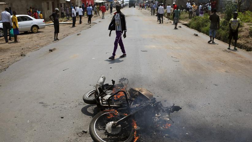 Unruhen: Die Sorge um Burundi kommt zu spät