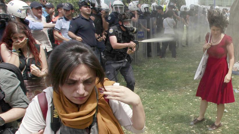 Ceyda Sungur Gezi Park Istanbul