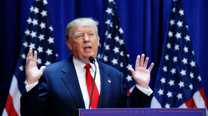 Donald Trump: Fluffig blonde Haarpracht