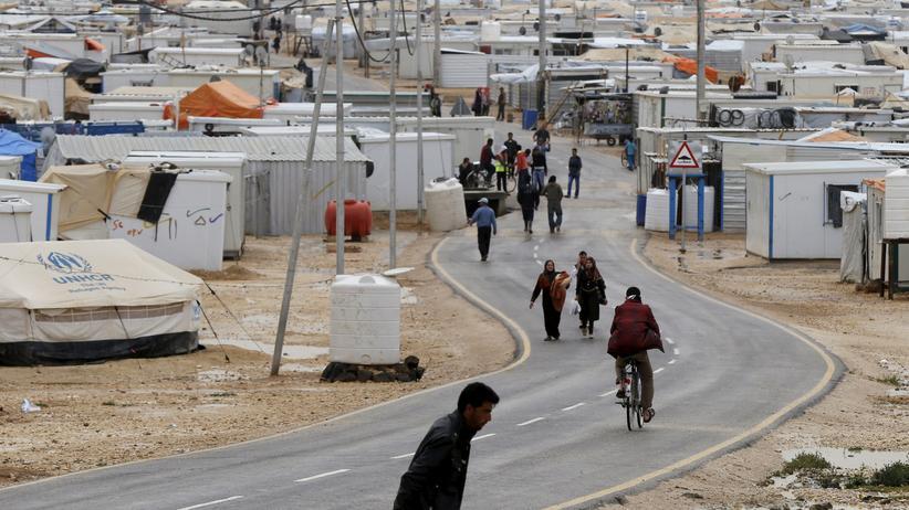 Ein Flüchtlingslager in Jordanien