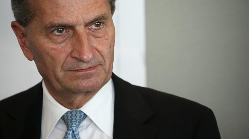 Günther Oettinger: EU-Kommissar Günther Oettinger