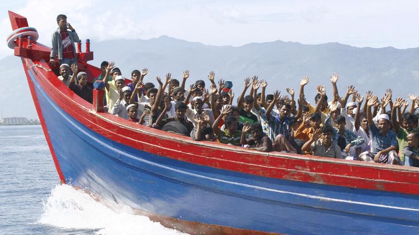 Indonesien Australien Boot Flüchtlinge