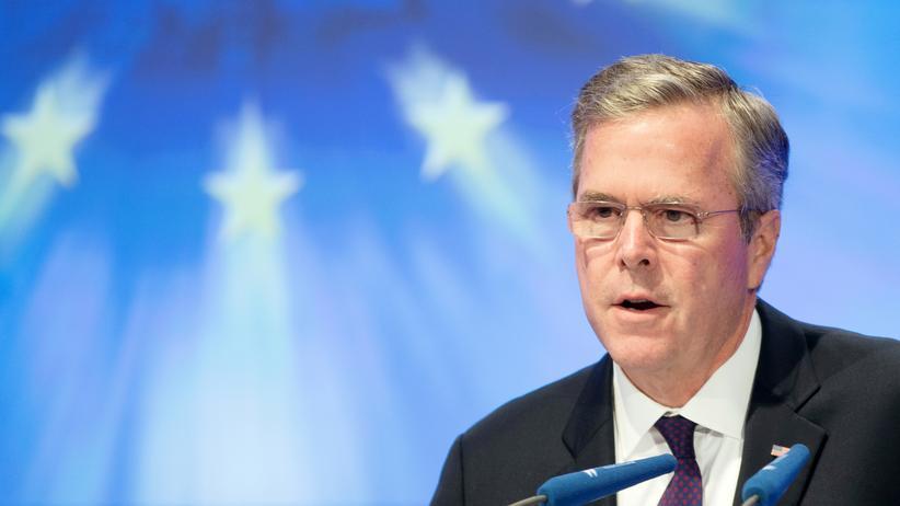 Jeb Bush: Phantom-Kandidat kuschelt mit der CDU