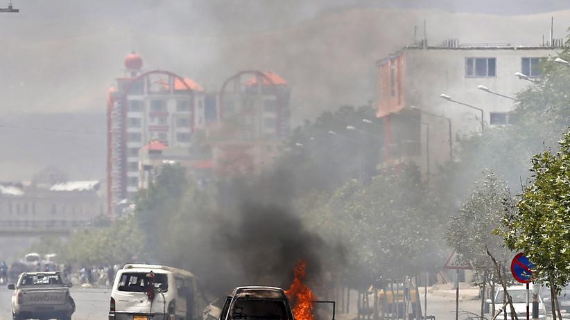 Afghanistan Kabul Anschlag Parlament