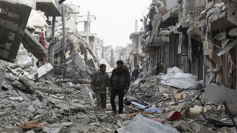 Kobani: Alltag zwischen Ruinen und Sprengfallen